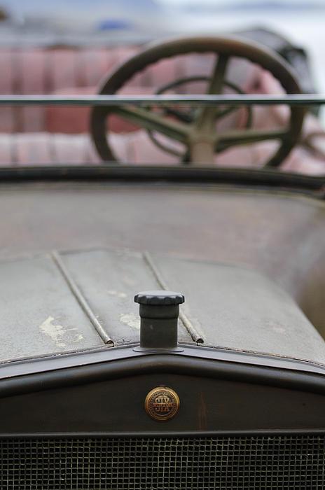 Hood Ornament Photograph - 1916 Winton Model 33 Touring Hood Ornament by Jill Reger