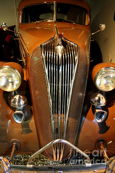 Transportation Photograph - 1936 Hudson 64 De Luxe 8 Sedan by Wingsdomain Art and Photography