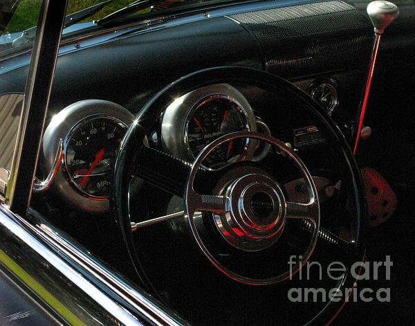 Transportation Photograph - 1953 Mercury Monterey Dash by Peter Piatt