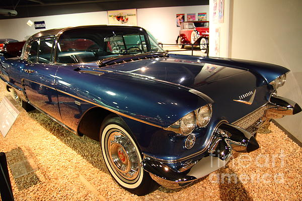 Transportation Photograph - 1958 Cadillac Eldorado Series 70 Brougham by Wingsdomain Art and Photography