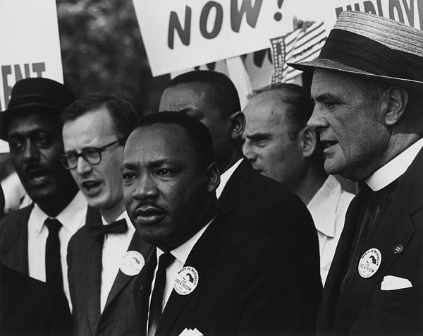History Photograph - 1963 March On Washington. Martin Luther by Everett