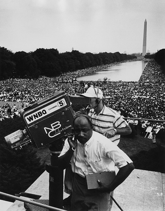 History Photograph - 1963 March On Washington. Nbc by Everett