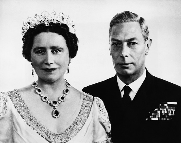 1940s Photograph - British Royalty. British Queen by Everett