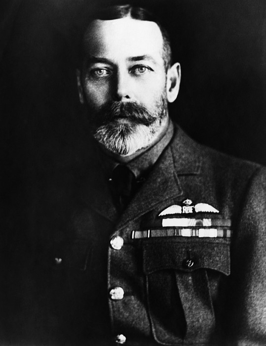 1910s Photograph - British Royalty. King George V by Everett