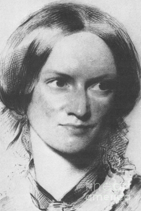 Charlotte Bronte Photograph - Charlotte Bronte, English Author by Science Source