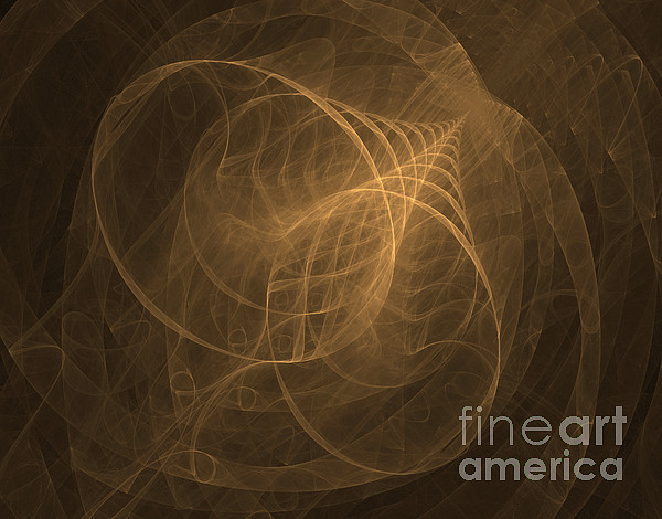 Pattern Photograph - Fractal Image by Ted Kinsman