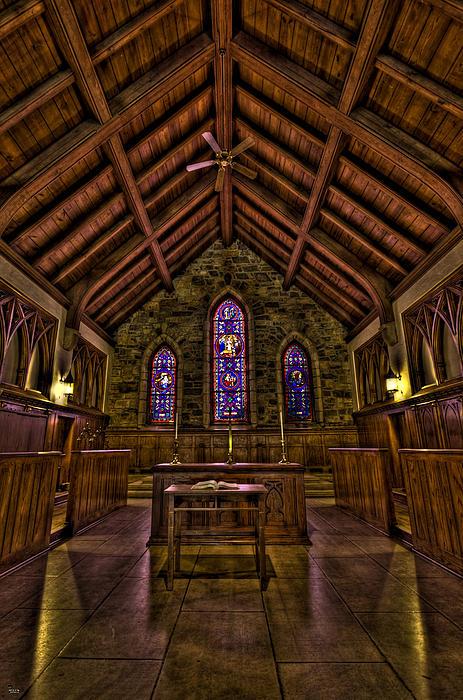 Chapel Photograph - Frost Chapel Hdr by Jason Blalock