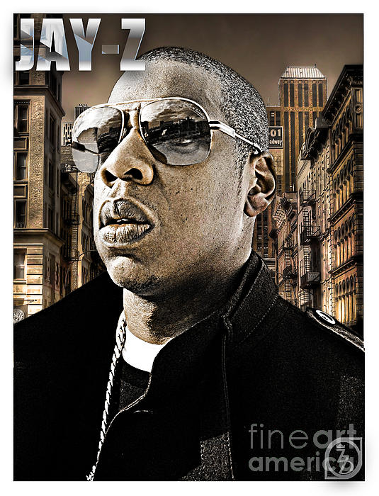 Shawn Carter Digital Art - Jay Z by The DigArtisT