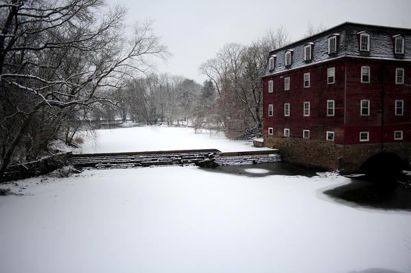 Winter Photograph - Kingston Mill by Frank DiGiovanni