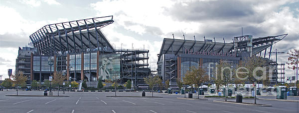 Lincoln Financial Field Photograph - Lincoln Financial Field by Jack Paolini