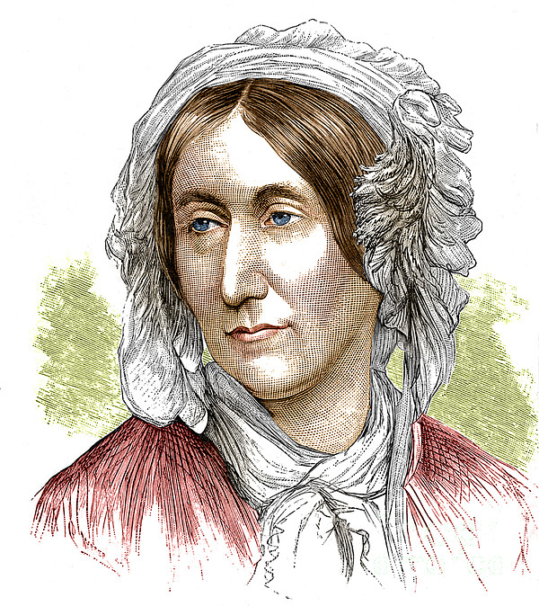 Science Photograph - Mary Somerville, Scottish Polymath by Science Source