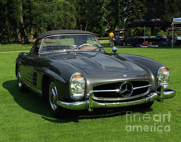Mercedes Photograph - Mercedes 300 Sl by Peter Piatt