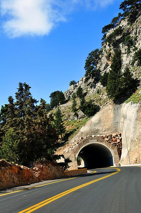 Mountain Photograph - Mountain Tunnel. by Fernando Barozza
