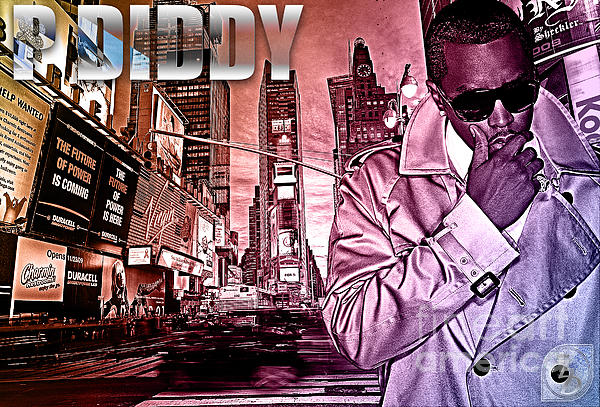 Diddy Digital Art - P Diddy by The DigArtisT