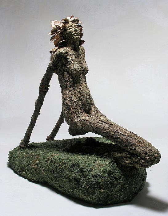 Sculpture Mixed Media - Placid Efflorescence by Adam Long