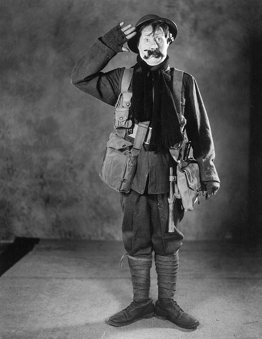 1920s Photograph - Silent Film Still: Uniforms by Granger