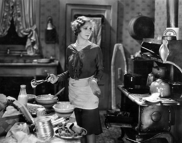 -housework & Cooking- Photograph - Silent Film Still by Granger