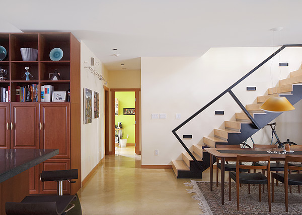 Open Photograph - A Home Interior In North Vancouver by Marlene Ford