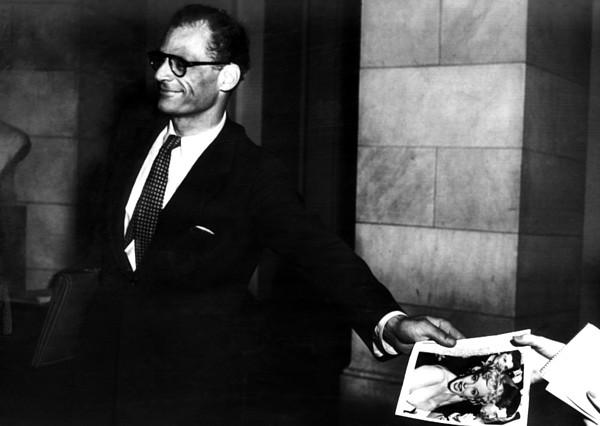 Arthur Miller, 1915-2005, American Photograph by Everett