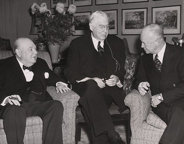 History Photograph - Prime Minister Winston Churchill by Everett