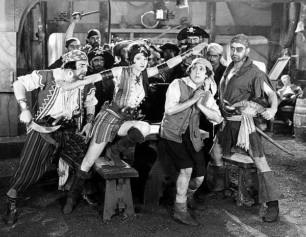 Pirate Photograph - Silent Film Still: Pirates by Granger