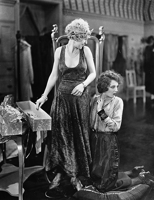 1920s Photograph - Silent Film Still: Sewing by Granger