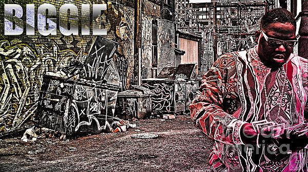 Biggie Digital Art - Street Phenomenon Biggie by The DigArtisT