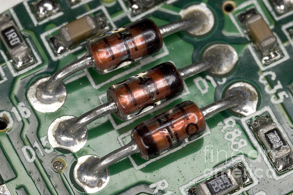 Electronic Components  - Electronics Board by Ted Kinsman