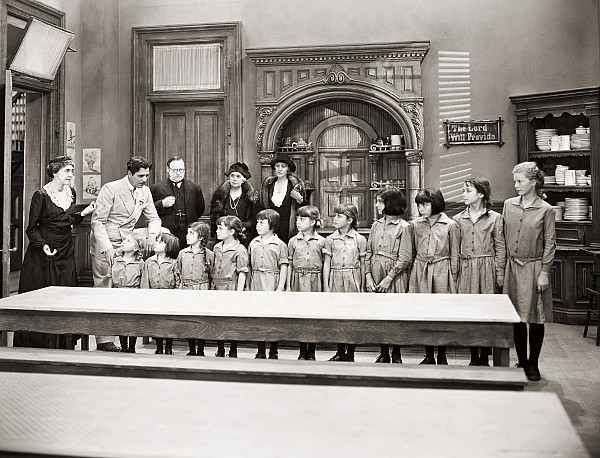 -children- Photograph - Silent Still: Children by Granger