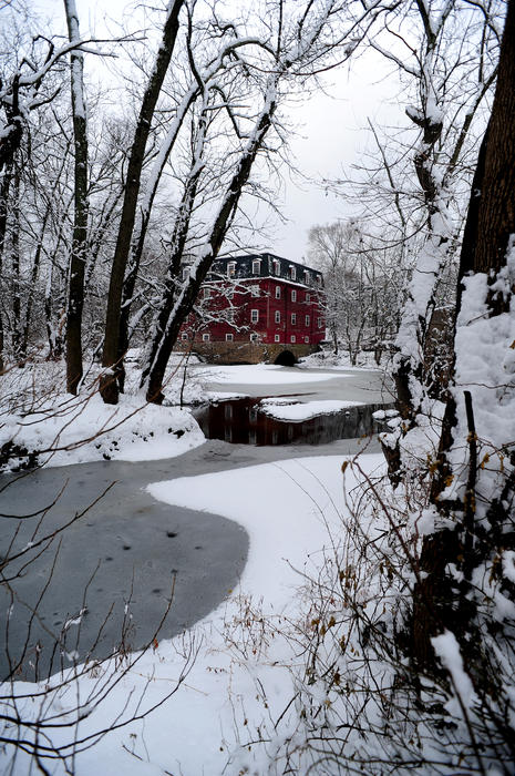 Millstone River Photograph - Kingston Mill by Frank DiGiovanni