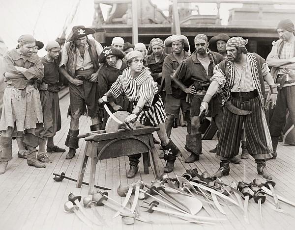 1928 Photograph - Silent Film Still: Pirates by Granger