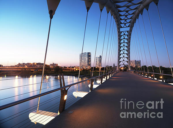 Arch Bridge Photograph - Toronto The Humber River Arch Bridge by Oleksiy Maksymenko
