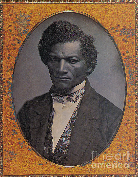 History Photograph - Frederick Douglass, African-american by Photo Researchers