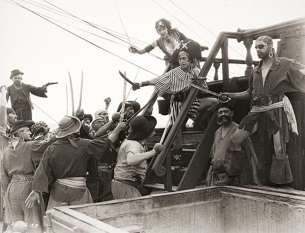 Pirate Photograph - Silent Film Still: Pirates by Granger