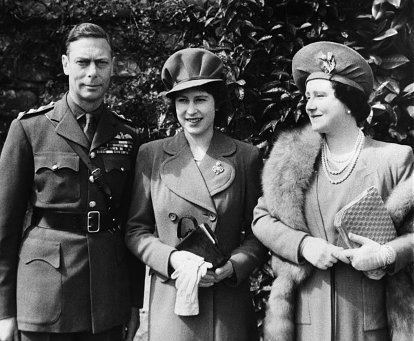 1940s Photograph - British Royal Family. From Left British by Everett