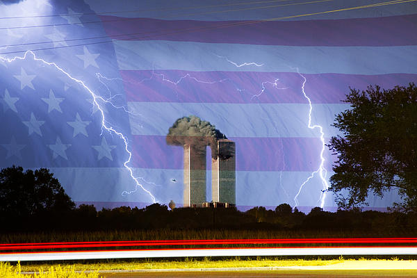 9-11 Photograph - 9-11 We Will Never Forget 2011 by James BO  Insogna