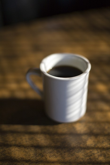 Indoors Photograph - A Cup Of Coffee At A Diner by John Burcham