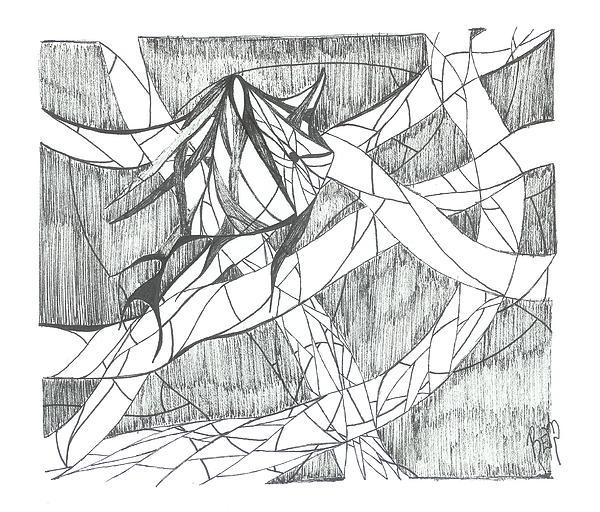Fish Drawing - A Fish by Robert Meszaros