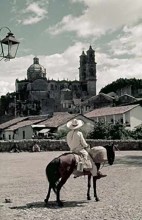 Day Photograph - A Man On Horseback Looks At The Borda by Luis Marden