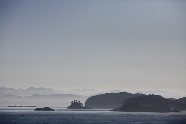 Sunset Photograph - A Misty Afternoon On Haida Gwaii by Taylor S. Kennedy