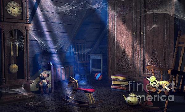 3d Digital Art - A Place Of Memories by Jutta Maria Pusl