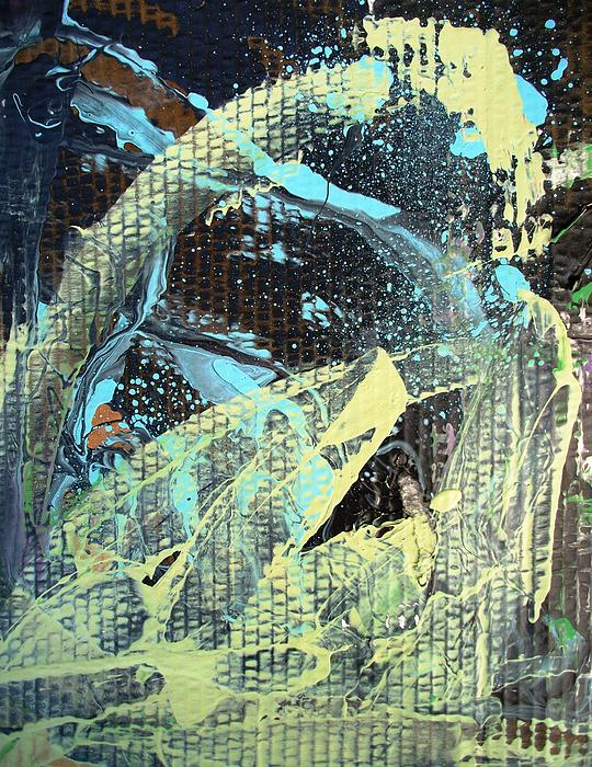 Williamsburg Painting - A Private Universe Of Despair by Bruce Combs - REACH BEYOND