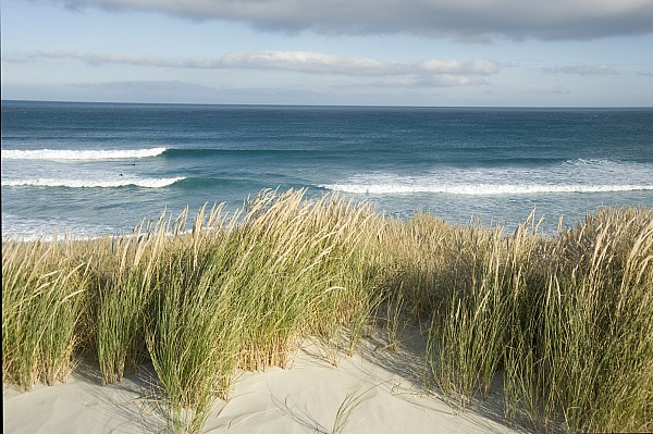 Outside Photograph - A Scenic Hillside Of The Beach by Bill Hatcher