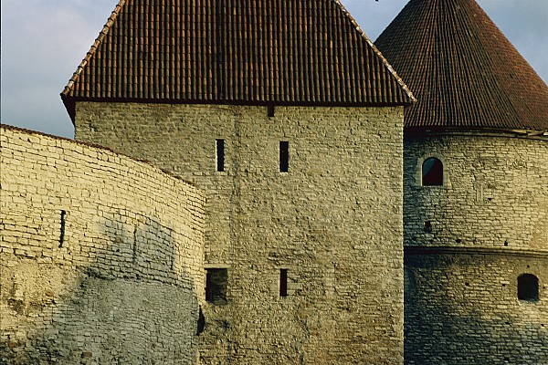 Walls Photograph - A Section Of Wall Around Tallinn, Built by Sisse Brimberg