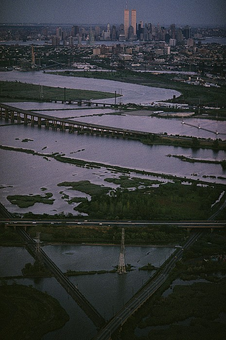 Skylines Photograph - A Shot Of The Meadowlands And The New by Melissa Farlow