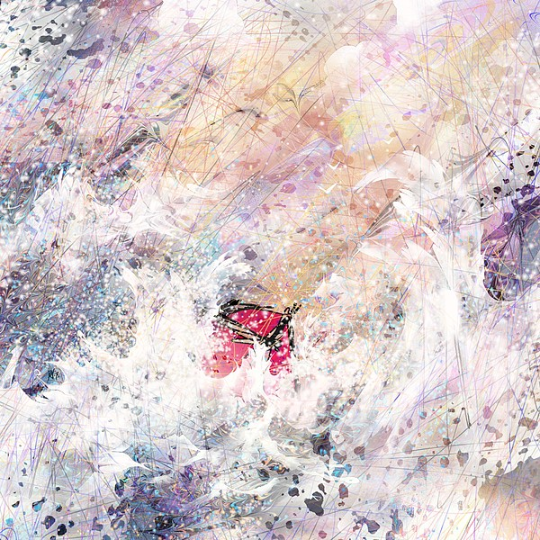 Abstract Digital Art - a Trial by Rachel Christine Nowicki