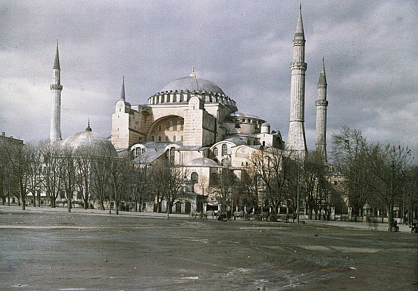 Day Photograph - A View Of Sancta Sophia From Arcoss by Maynard Owen Williams