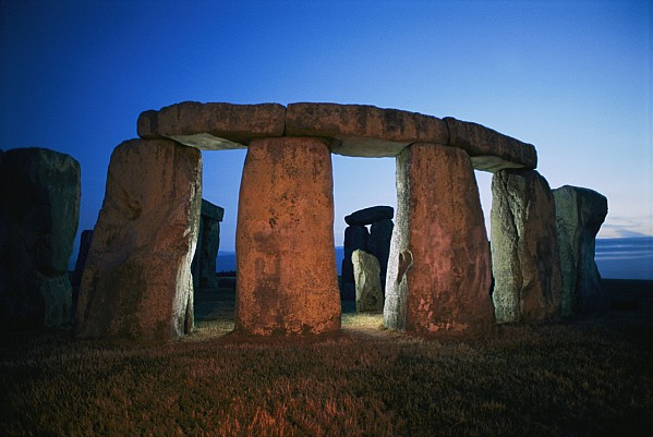 Europe Photograph - A View Of Stonehenge Silhouetted by Richard Nowitz