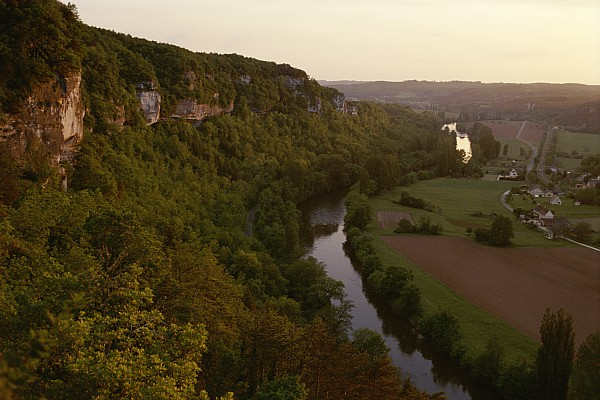 Europe Photograph - A View Of The Vezere River Valley by Kenneth Garrett