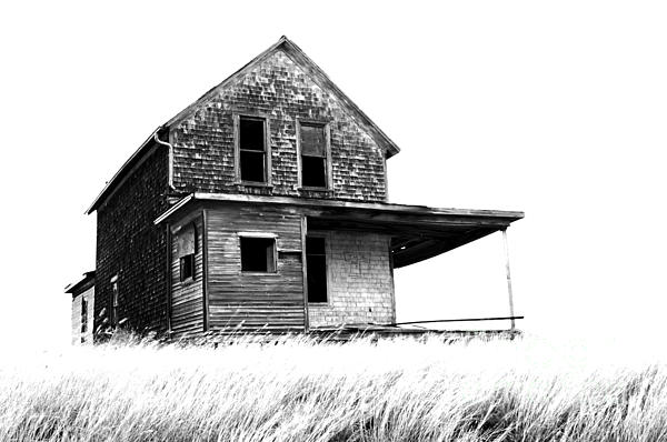 House Photograph - Abandoned And Alone 2 by Bob Christopher